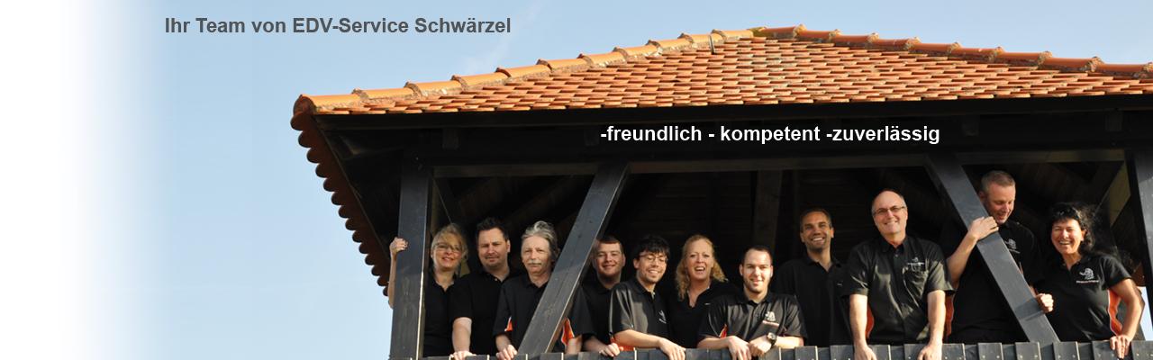 Team des EDV-Service Schwärzel im Kuckucksturm